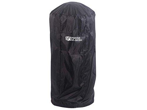 Habitat et Jardin – Housse pour parasol chauffant Relax 2 – Dia.54 x H117 cm – Noir
