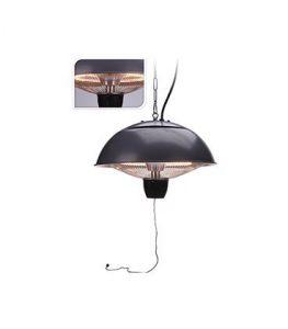 Parasol chauffant 1500 W – IP65 – Support mural – étanche