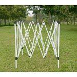 Anaelle Pandamoto Tonnelle Tente de Réception Pliante Imperméable Pavillon du Jardin Extérieure Chapiteau Barnum Etanche PE Couvert, Taille: 3x3m, Poids: 13kg (Beige)