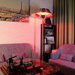 GREADEN – Parasol chauffant infrarouge JUPITER – grand réflecteur, plus de chaleur – Chauffage de terrasse – GR2RT2