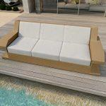 nativo© Meubles de jardin en rotin Canapé lounge Matis 3places