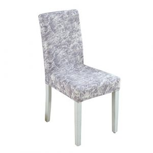 Reinefleur Imprimé Stretch Couverture de Chaise Hôtel Restaurant Housse de Chaise Extensible