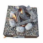 COALS 4 YOU Brasero en Acier Inoxydable 160 x 420 x 420 mm