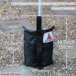 ABCCANOPY (Gros Sac de Poids en qualité Industrielle pour Tente et Gazebo(6 pièces)