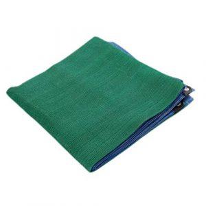 ANUO Toile d'ombrage en Maille 95% Tissu pour pergola Protection Contre Le Soleil Bord collé avec œillets pour terrasses, granges, niches, Polyéthylène, Vert, 3x4m/9.8×13.1ft