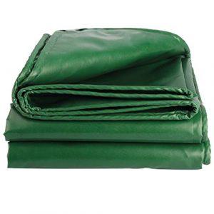 Bâche extérieur Couteau imperméable crème solaire Grattage tissu vert Thicken Heavy Duty Qualité haut de gamme Canopy Toile Tricycle voiture Couvertures Tapis de sol (450g par mètre carré)