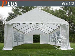 Dancover Tente de réception Plus 6x12m PE