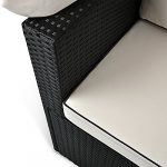 Divan Lounge canapé de jardin avec toit pare-soleil – Salon de jardin