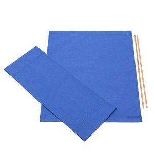 Donpow Housse de Rechange en Toile, chaises, chaises, kit de Housses de siège de Rechange pour Tabouret Bleu