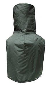 Gardeco Wintercoat2Grande Cheminée d'extérieur en Hiver Coat- Vert foncé