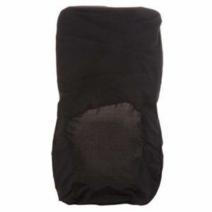 Housse de Chaise Extensible en Polyester Spandex Couverture de Protection pour Tabouret Chaise Siège – Noir