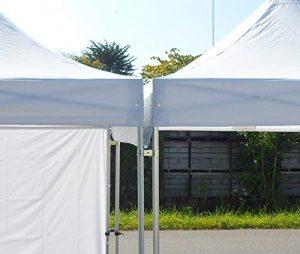 MOBEVENTPRO- Gouttière pour tentes pliantes 3m 300gr/m2 blanc