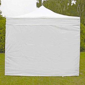 MOBEVENTPRO- Mur plein tente pliante Pro 40MM 3m blanc