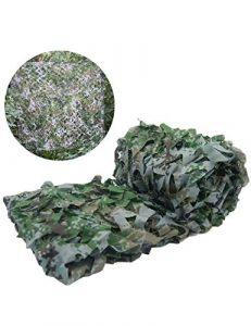 Sisizhang Réseau de Camouflage Jungle Réseau de Camouflage extérieur Écran Solaire Écran Solaire Champ Décoration de Nuance Réseau Vert Réseau Réseau Tissu de Camouflage (Color : 9.8FT×13.1FT)