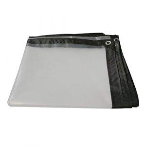 Tangzhi Toile cirée imperméable et résistante pour fenêtre de Maison, en polyéthylène, 23 Dimensions, Clear, 2X6M