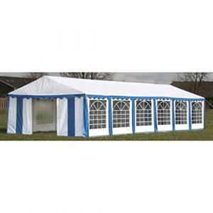 Tidyard Chapiteau/Tente de Fête/Tonnelle de Reception 12 x 6 m Bleu