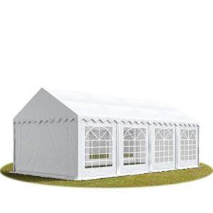 TOOLPORT 3×9 m Tente de réception/Barnum Blanc Toile de Haute qualité 500g/m² PVC