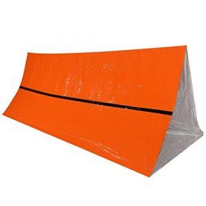 VGEBY 100d'urgence de Survie Thermique réfléchissante Tente Rescue Abri Pliable Durable Tente