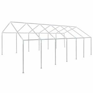 vidaXL Cadre pour Tente de Fête Cadre de Chapiteau Jardin Arrière-Cour Extérieur Evénements en Plein Air Durable Robuste 12×6 m Acier