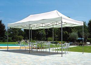 Barnum pliable rectangulaire 6 x 3 m polyester 210 gr -PEGANE-