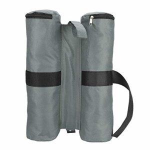 Dioche Sacs de Poids de Tente, Sacs de Sable Lestés D'auvent Parasol de Tente D'extérieur de Pare-Soleil de Tente de Parasol(Vert Militaire)