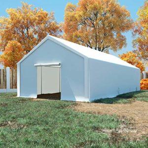 FAMIROSA Tente de Rangement PE 5 x 10 m Blanc