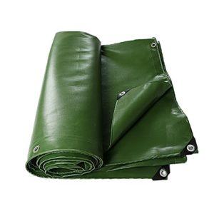 SXZHSM Bâche de bâche Robuste Poncho extérieure Robuste imperméable et résistant aux UV Bâche imperméable (Color : Green, Size : 5X10M)