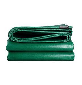 Z-P Tente Bâche Épaisse Résistant À l'usure Imperméable À l'eau en Tissu Ignifuge Camion Yard Usine Ombre Tissu Vert (Taille : 4x8m)
