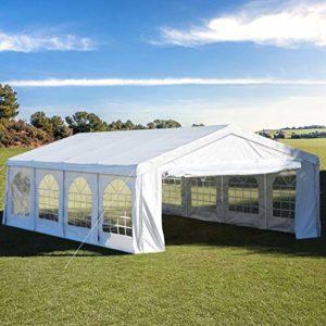 Quictent – Tente d'extérieur pour réception 4x8M blanc