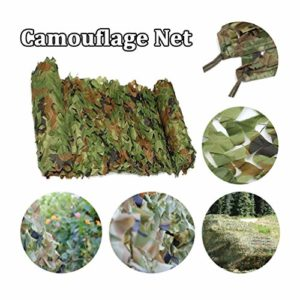 4 x 8 m / 13 x 26 ft Polyester Pet Fibre Camouflage du Filet de Chasse Écran de Sun Couverture Voiture 2x10m/6x32ft Jungle Camouflage