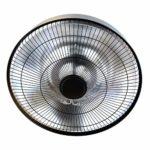 GREADEN – Parasol Chauffant Suspendu Infrarouge Haumea Télécommande Chauffage électrique de terrasse à Halogène 2100W IP44 Radiateur Réglable Jardin/Patio/TenteIntérieur