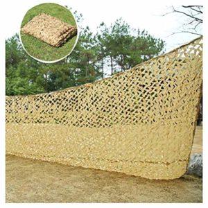 Jungle Camouflage Net, Filet De Camouflage 3x4m Filet De Protection Tente De Camouflage Tente De Protection De Bâche En Toile De Bardage Terrasse Pare-soleil Couverture De Jardin Ombre Anti-pluie UV C