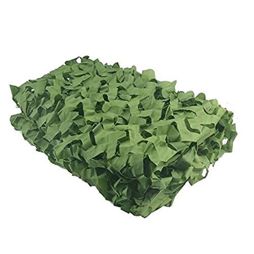 Filet de camouflage WXQIANG – Imperméable et léger – Oxford – Convient pour le camping en plein air, la photographie, la décoration de la maison, 4x8m
