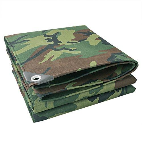 Sisizhang Bâche de bâche de Camouflage épaissie extérieure bâche bâche de Protection Solaire bâche de Protection bâche imperméable (Color : 5X10M)