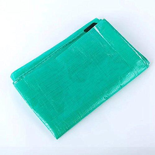 YAGEER Zhangpeng Toile Imperméable Épaisse Bâche Imperméable en Toile Résistante Recouverte d'une Bâche Imperméable Chiffon Anti-poussière – Vert, 200 G / M2 (Taille : 5x10m)