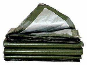 ZX XZ Bâche imperméable Robuste Vert Bâche Conseil de Haute qualité Made Couverture de 200 g / m2 Bâche (Color : Green, Size : 4x8m)