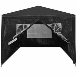 Cikonielf Tente pliante 4 x 3 m résistante aux rayons UV et à l'eau