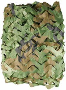 Filet de protection solaire de 3 x 4 m 3 x 5 m pour pare-soleil de camping, militaire, chasse, regarder, cacher les décorations de fête Taille : 10 x 10 m (taille : 8 x 10 m)