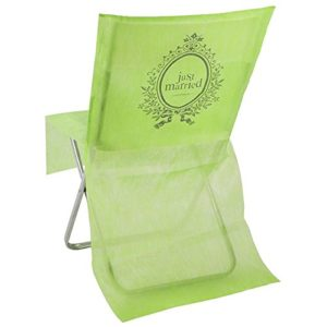 Santex 3829 Just Married Housse de Chaise Vert